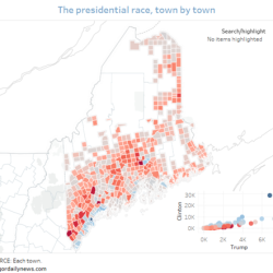 Maine Lights Up Red For Trump Everywhere But The Coast And Bangor