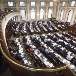 The 128th Legislature will convene for the first regular session on Wednesday, Dec. 7, 2016.
