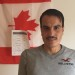 Khalid Raslan, a newly arrived Syrian refugee in Perth-Andover, New Brunswick, Canada. Unlike the U.S., Canada allows residents to band together to bring refugee families to their specific area.