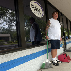 Kelly Pierce of Bradenton, Fla., has struggled for years to kick his addiction to prescription opioids. Since 2009, he has been enrolled in treatment at Operation PAR, a Bradenton methadone clinic where he also works, near his home.