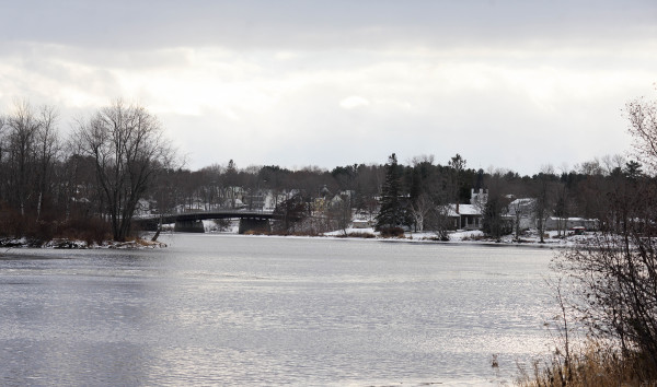 A view of the Penobscot River can be seen on Friday from Indian Island. Kirk Francis, chief of the Penobscot Indian Nation, praised the new water quality standards issued by U.S. Environmental Protection Agency that will protect the tribe's sustenance fishing rights during a press conference on Friday on Indian Island.