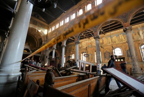 Cairo Church Bombing Kills 25 Raises Fears Among Christians World Bangor Daily News BDN Maine