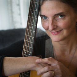 Portland musician Jenny Van West finds unneeded, but playable, keyboards and guitars and puts them in the hands of Portland's newest Mainers. Van West just won a $5,000 to help her cause.