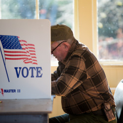Reflecting a national trend, more Mainers who voted on Nov. 8 left the presidential ballot box blank or voted for a third-party candidate than in past presidential elections. In at least one precinct, not one voter cast a ballot for either Republican President-elect Donald Trump or Democrat Hillary Clinton.
