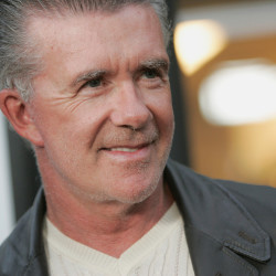 """Actor Alan Thicke arrives for the premiere of """"National Lampoon Presents One, Two, Many"""" in Los Angeles, California, U.S. on April 10, 2008"""