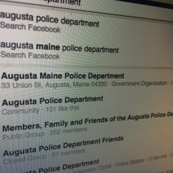 Augusta Police Department issued a notice on Thursday that the department's Facebook page had been spoofed, and disturbing fake news about deaths and accidents within the city have been posted. The legitimate page is listed as a government site and has over 11,000 likes.