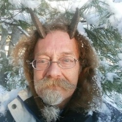 Phelan MoonSong, a horn-sporting Pagan, made headlines across Maine after he received an identification card after being rejected by the Bureau of Motor Vehicles office in Bangor.