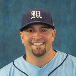 University of Maine interim head baseball coach Nick Derba