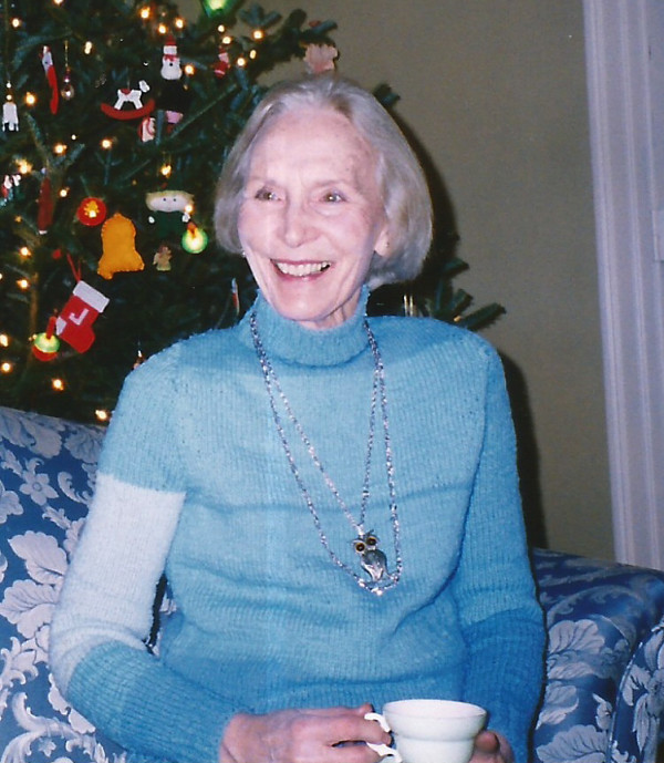 This photo of Veronica Pendleton was taken in about 2003 at her home in Belfast, Maine.