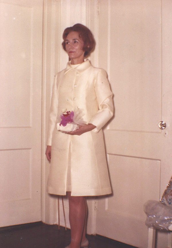 Agnes Veronica Kielty was born in Ireland in 1927. This photograph is thought to have been taken in 1971 on the occasion of her marriage to Dr. Raymond Pendleton of Islesboro.