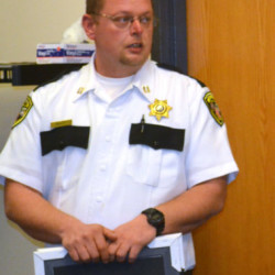 Two Bridges Regional Jail acting administrator, Capt. James Bailey