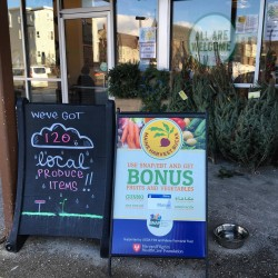 The Portland Co-op is one of 18 local food markets and farmers' markets offering increased matching funds for Supplemental Nutrition Assistance Program shoppers through Maine Harvest Bucks, allowing them to buy more local fruits and vegetables.