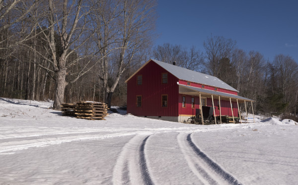 The Yoder family has built a new shop building this year after they bought farm land in 2016 in Whitefield. They plan to move to Whitefield from New York state in the spring of 2017.