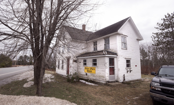 The Garry Owen House, which offers transitional housing to homeless veterans, can be seen Wednesday in Searsmont.