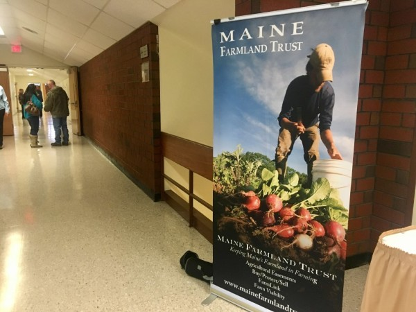 Attendees convened Monday at the Maine Farmland Trust's second annual Farmland Access Conference, where the focus was the 400,000 acres of farmland in the state that is poised to change hands over the next decade.