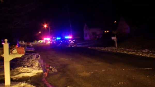 Auburn police are investigating a shooting. Two people were being treated for gunshot wounds at a nearby hospital.