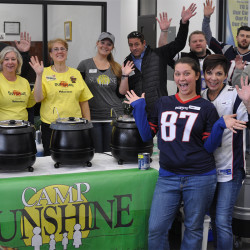 Camp Sunshine warmed things up at Patriot Subaru with some delicious chili!