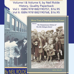Neil Rolde's series about how holocaust survivors fought for their lives and what the US did to help