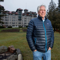 Les Otten, a winter-sports industry veteran who teamed up with a pair of local businessmen to redevelop the Balsams resort in Dixville Notch, New Hampshire.