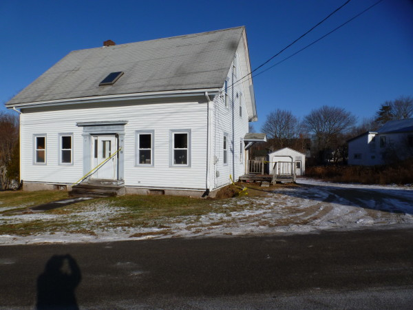 This School Street house, which was purchased by Ruth Moore, a military sexual assault survivor, with funds from a benefit settlement, can be seen recently in Machias. Moore will operate her nonprofit, Internity, from the house to help Down East veterans connect with services.