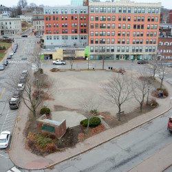 Pickering Square will undergo a redesign in 2017 in what would be among Bangor's most ambitious plans for 2017.