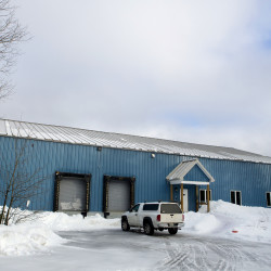 The Penobscot Indian Nation Enterprises hopes to open a distillery on this property seen on Wednesday on Indian Island.