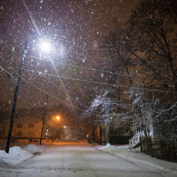 Less snow, more rain for Bangor in this winter's first nor'easter