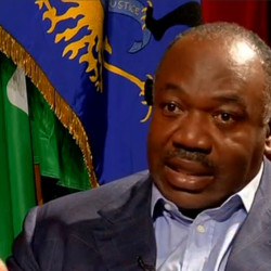 Gabon President Ali Bongo is interviewed in Libreville, Gabon, September 24, 2016.