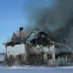 Firefighters battle structure fire in Monticello