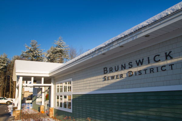 The Brunswick Sewer District, which is one of hundreds of publicly-funded Maine organizations that have participated in the Maine PowerOptions program, can be seen in this file photo. The Brunswick Sewer District recently selected a new supplier for its electricity needs.