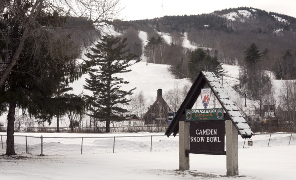 The Camden Snow Bowl can be seen on Tuesday in Camden.