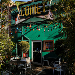 A general view Comet Ping Pong pizza restaurant in Washington, D.C., Dec. 5, 2016. The pizzeria has vowed to stay open after a shooting there sparked by a fake news report that it was fronting a child sex ring run by Hillary Clinton.