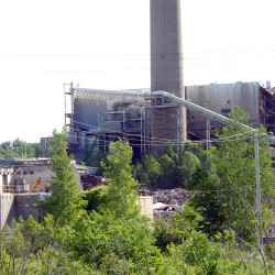 The Great Northern Paper site can be seen in Millinocket in this June 2014 file photo.