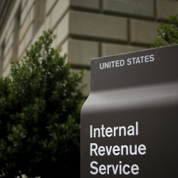 A general view of the U.S. Internal Revenue Service building in Washington, May 27, 2015.