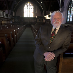 The Rev. James Haddix, 70, who has been senior pastor at All Souls Congregational Church is retiring at the end of December. Haddix served at the for All Souls Congregational Church for 26 years and was ordained 45 years ago.