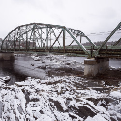 The Frank J. Wood Bridge between Brunswick and Topsham can be seen in this April 2016 file photo.