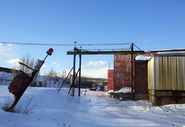The former Great Northern Paper mill is seen in Millinocket Friday.