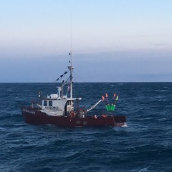The lobster boat Miss Mae & Son sank off the coast of York on Friday.