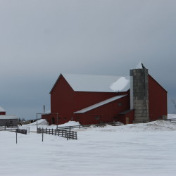 A barn at the family homestead of Jonas Gingrich, one of six Amish barns in Easton granted a property tax abatement by the Aroostook County Commissioners in the summer of 2016, can be seen recently in Easton. In January 2017, the Aroostook County Superior Court sided with the town of Easton and ruled that the tax abatements should not have been granted.