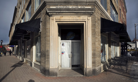 Giacomo's, which abruptly closed on Dec. 23, 2016, can be seen on Dec. 26 in downtown Bangor.