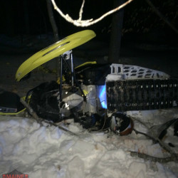 A Rhode Island man was killed Saturday in Maine's third snowmobile related fatality this season, Game Warden Corporal John MacDonald said in a Tuesday press release.