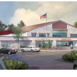 A nonprofit group calling itself Acadia Arena at Whitney Landing is hoping to raise $11 million to build a new indoor ice arena next to Ellsworth High School in the next few years.
