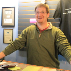 Chris Morton, of King Morton's Hall of Music in Presque Isle, started the store when a previous music shop closed and has turned into a hub for aspiring and preforming musicians in Aroostook County.