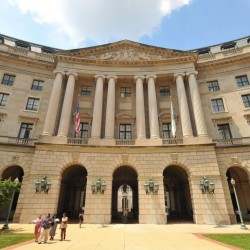 The headquarters of the Environmental Protection Agency in Washington.