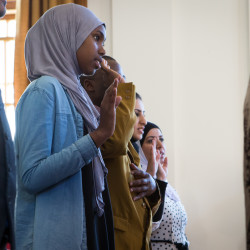 Casco Bay High School student takes stand against tribal violence in native Somalia