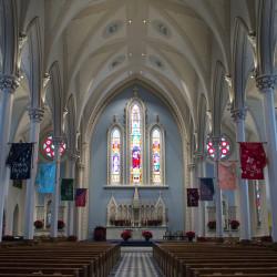 The inside of St. John Catholic Church in Bangor as seen on Feb. 4, 2015.
