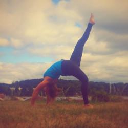 Belfast yoga teacher April Dove.