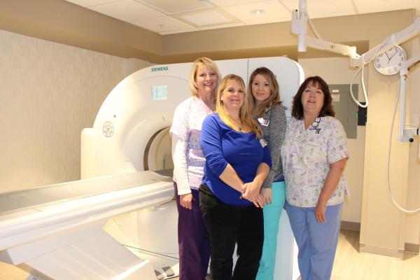 Blue Hill Memorial Hospital's diagnostic imaging team