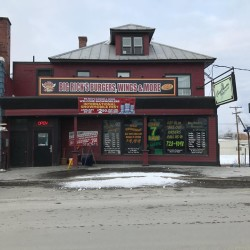 New Signage Displayed on Big Rick's Restaurant and the County Connection Nightclub in downtown Madawaska. The Town's UDAG grant program assisted with the new signage.