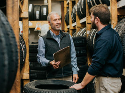Maine Owned Don Foshay S Discount Tire Grows Through Team Resources
